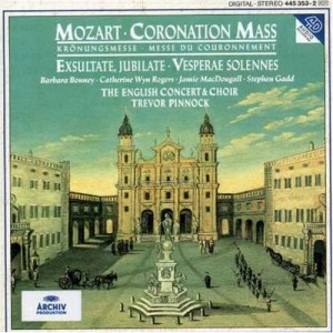 book cover of Mozart's coronation mass