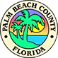 logo for palm beach count